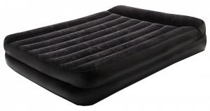 Черный надувной матрас
