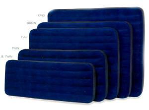 Размеры надувных матрасов