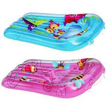 Детские надувные матрасы для плавания