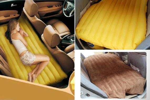 Надувной матрас в машине