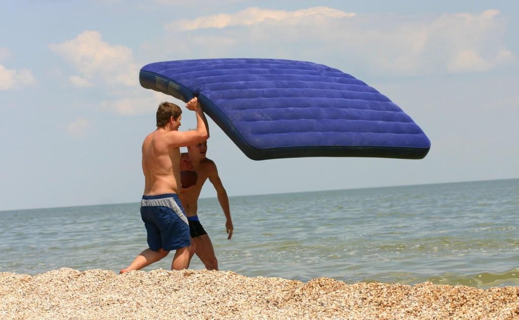 Матрас для пляжа