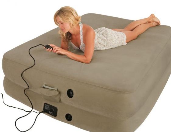 Надувная кровать двуспальная